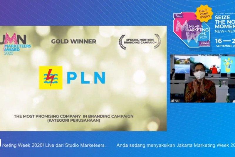 PLN raih tiga penghargaan di ajang BUMN Marketeers Award 2020