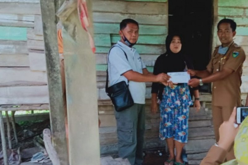 Baznas Pesisir Selatan bangun tiga rumah layak huni di Rawang Gunung Malelo Surantih
