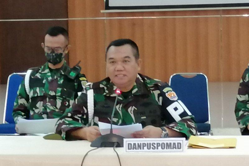 Danpuspomad sebut 57 oknum TNI AD tersangka perusakan Mapolsek Ciracas