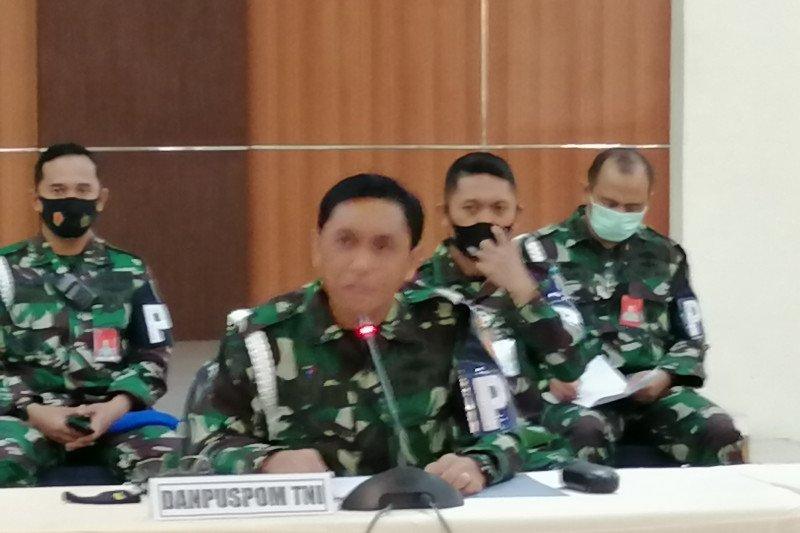 Puspom TNI tetapkan total tersangka perusakan Mapolsek Ciracas 65 orang