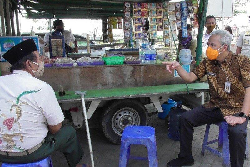 Petugas gabungan masifkan operasi yustisi protokol kesehatan di Jateng