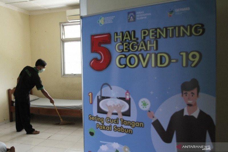 Pasien sembuh dari COVID-19 di DIY bertambah 50 orang