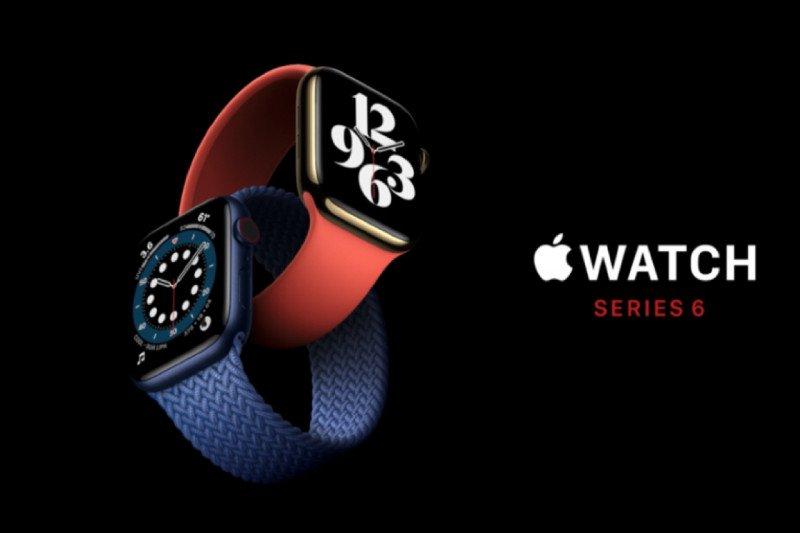 Apple rilis Watch Series 6 yang bisa ukur oksigen dalam darah