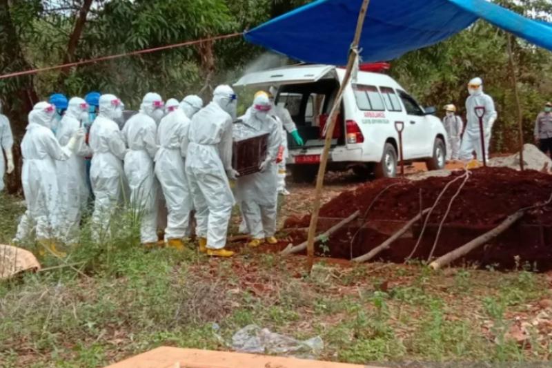 Pasien meninggal COVID-19 di Sultra tambah dua menjadi 44 orang