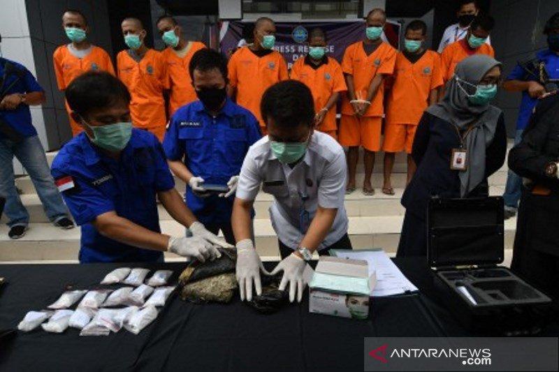 Pengungkapan kasus narkoba oleh BNN Sulteng