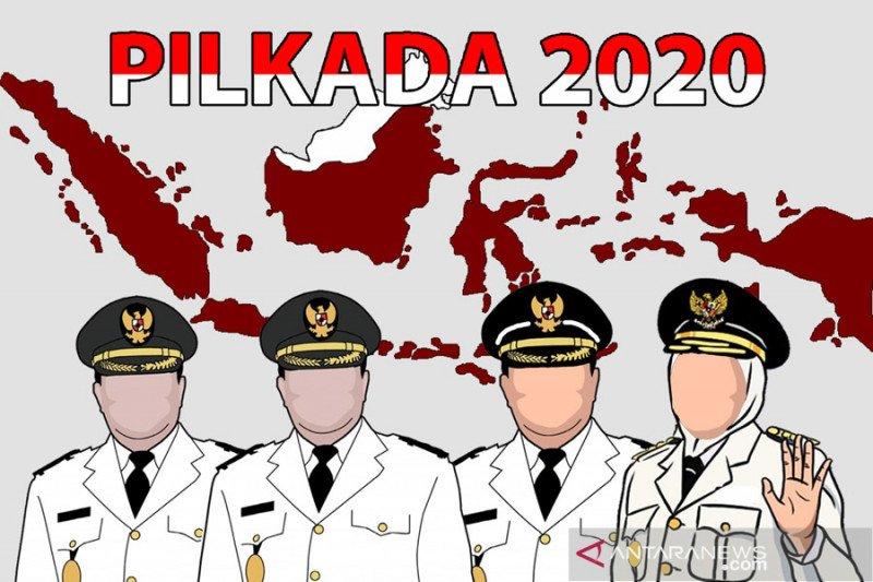 Proses penindakan pelanggar protokol COVID-19 di Pilkada 2020