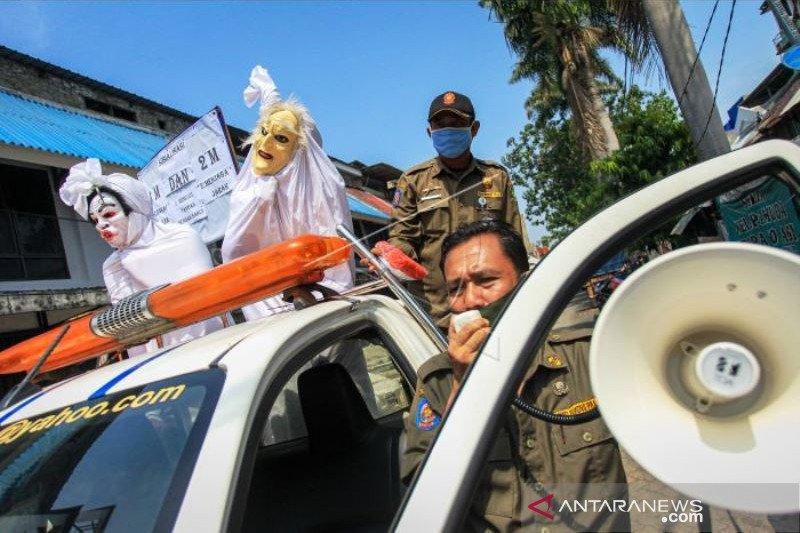 Sosialisasi Protokol Kesehatan di Tangerang