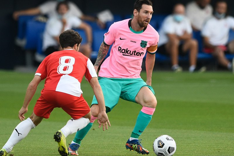 Messi sumbang dua igol saat Barca kalahkan Girona pada laga persahabatan