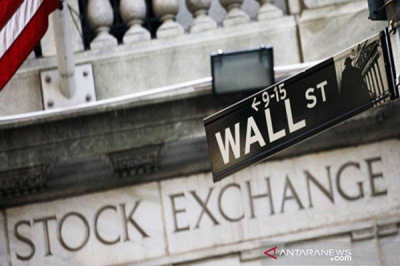 Wall Street jatuh dipicu prospek pemulihan buruk dengan Dow anjlok 942 poin