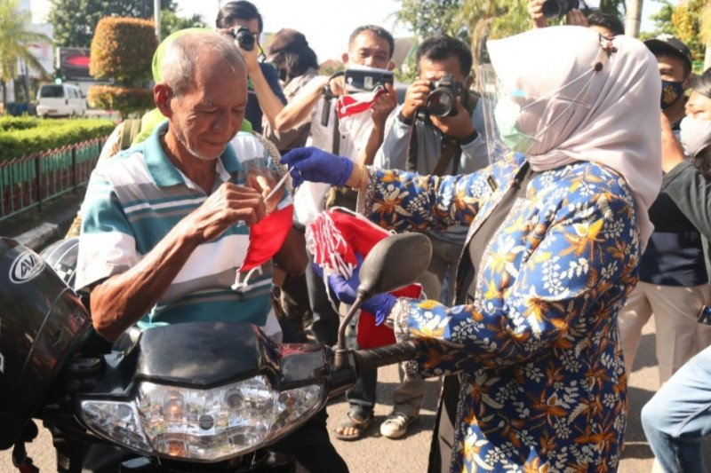 Tanjungpinang dukung kampanye sejuta masker Kemenkes