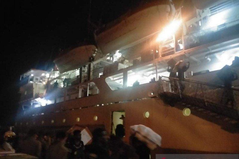 Penumpang kapal Pelni masuk ke Timika wajib kantongi surat bebas COVID-19
