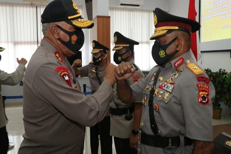 Brigjen Pol Mathius Fakhiri jabat Waka Polda Papua
