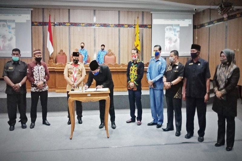 RAPBD Perubahan 2020 Kotim ditandatangani, ini komposisinya
