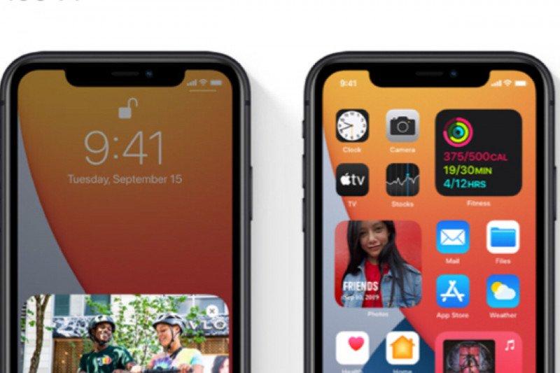 Apple rilis perangkat iOS 14 versi final
