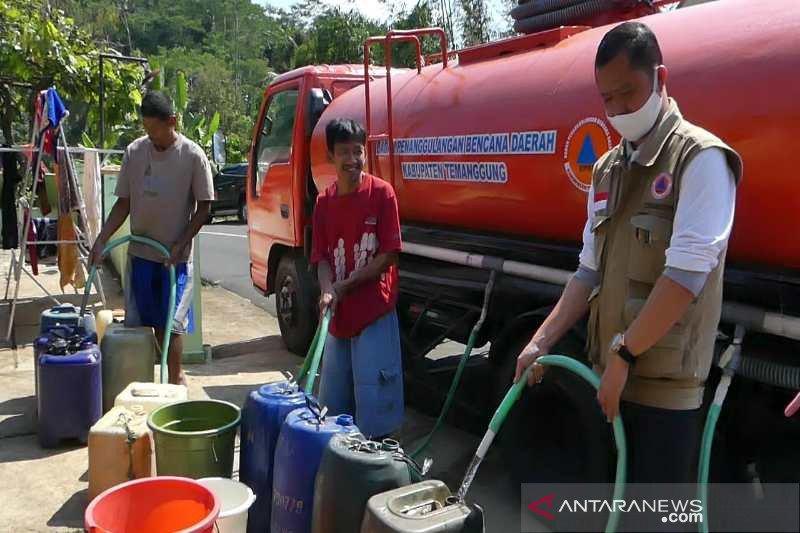 Kekeringan, lima kecamatan di Temanggung butuh air bersih