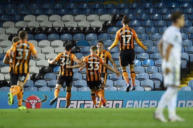 Leeds United disingkirkan Hull dari Piala Liga Inggris