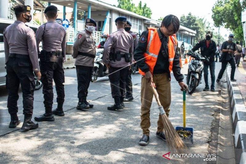 Jumlah pelanggar PSBB DKI Jakarta
