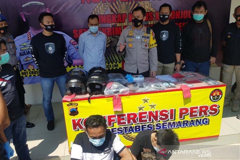 Polisi ringkus dua anggota komplotan spesialis ganjal ATM
