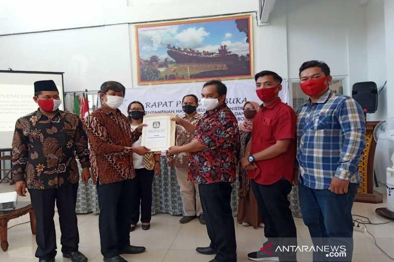 KPU Boyolali serahkan hasil cek syarat adminisitrasi Said-Irawan