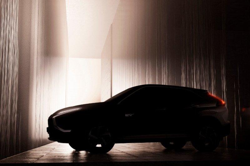Mitsubishi kembali hadirkan tampilan pertama dari Eclipse Cross