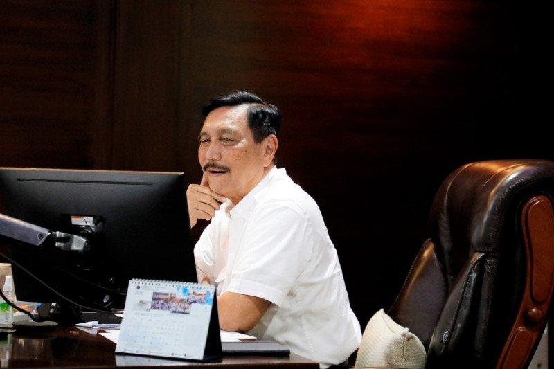 Luhut minta gubernur delapan provinsi siapkan hotel untuk isolasi