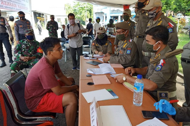 BKD: Denda tak pakai masker masuk penerimaan daerah yang sah