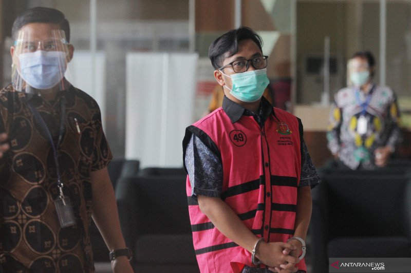 Kejagung memeriksa Andi Irfan Jaya di Rutan KPK