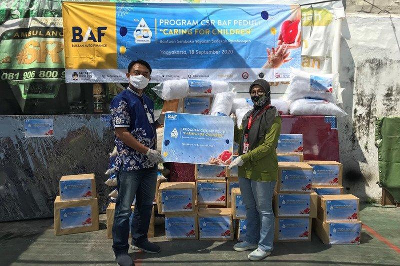 CSR BAF Peduli membantu pendidikan anak Indonesia