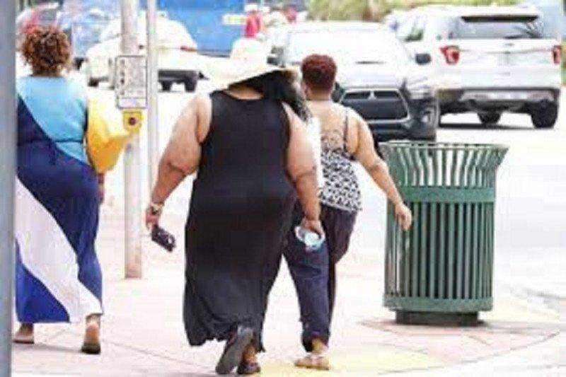 35 persen orang dewasa di 12 negara bagian AS alami obesitas