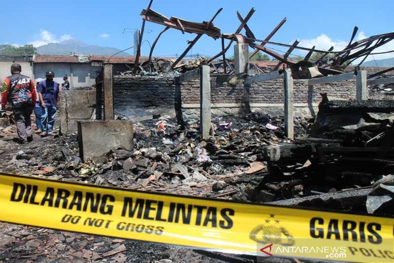 Pasar Cepogo Boyolali ludes terbakar, polisi selidiki penyebab kebakaran