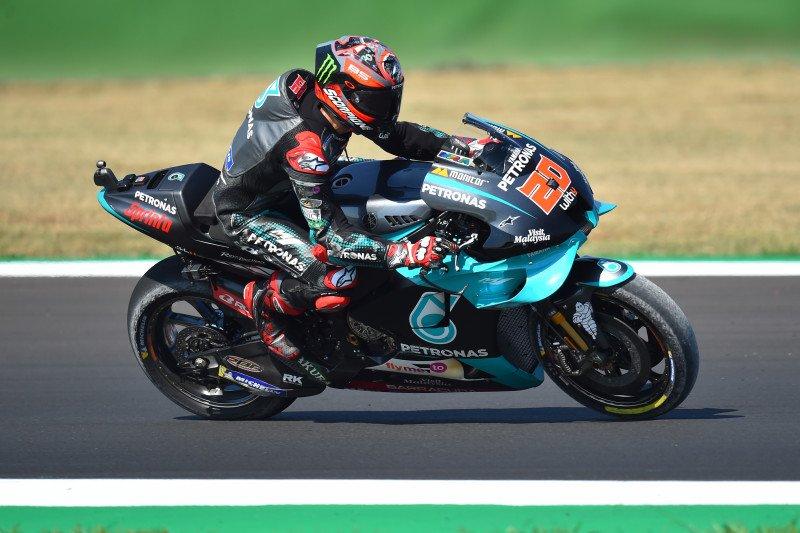 Quartararo bawa Petronas Yamaha finis 1-2 di FP1 GP Emilia Romagna