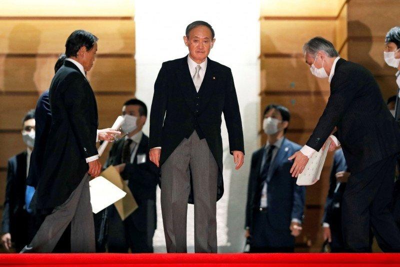 Jajak pendapat nyatakan dua pertiga publik Jepang dukung kabinet Suga