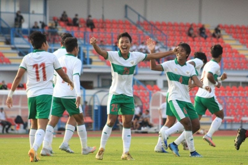 Tertinggal lebih dulu, Timnas U-19 kalahkan Qatar