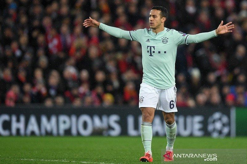 Thiago Alcantara kenang dua kunjungan terdahulunya ke Anfield