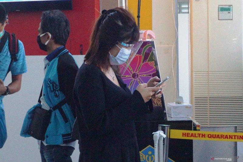 Pemeriksaan e-HAC di pelabuhan Sri Bintan Pura
