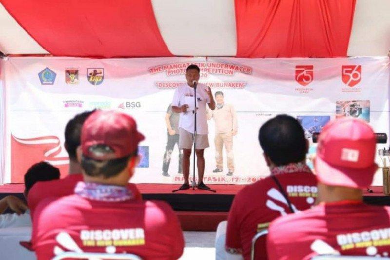 Selain Bunaken, Sulut punya destinasi wisata bawah laut Mangatasik