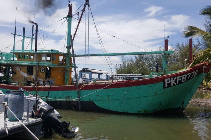 KKP rampungkan penyidikan kapal pencurian ikan di Selat Malaka