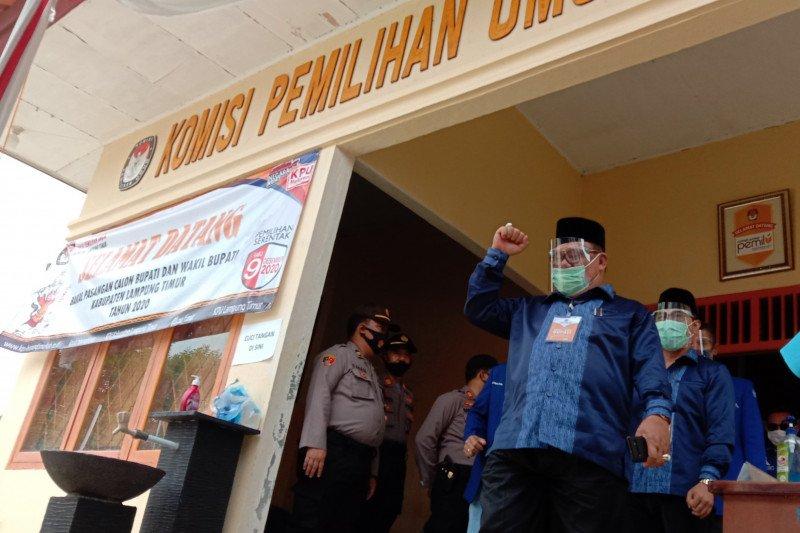 KPU rampung lipat surat suara Pilkada Lampung Timur