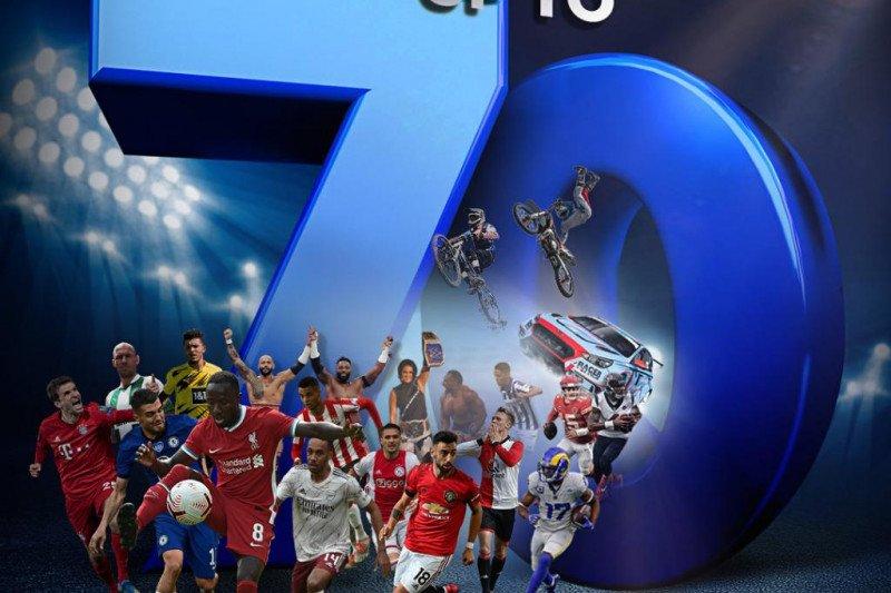 Setiap pekan Mola TV siarkan hingga 70 pertandingan sepak bola