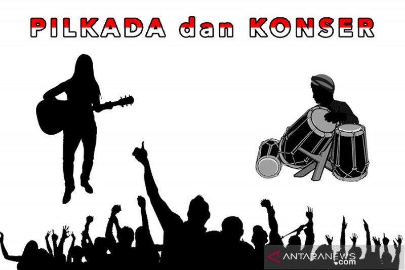 Konser musik dan Pilkada 2020