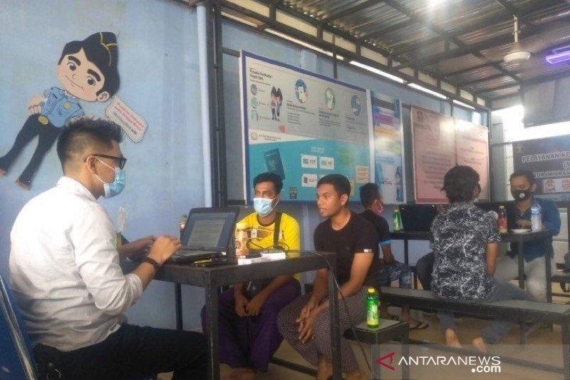 Empat warga Rohingya Malaysia cari keluarga di Aceh diamankan Imigrasi