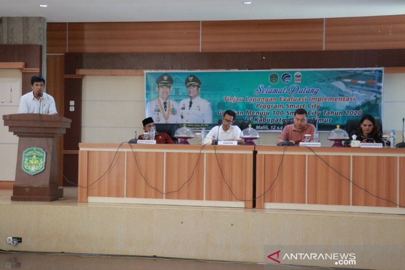 Pemkab Lutim  evaluasi implementasi Smart City