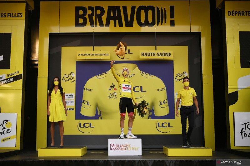 Klasemen sementara Tour de France usai etape ke-20