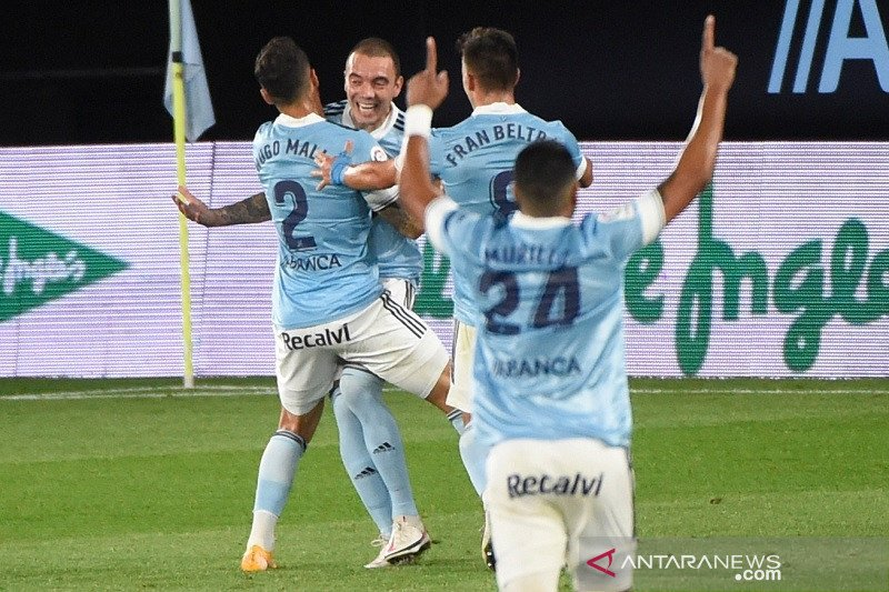 Valencia tersungkur di kandang Celta Vigo