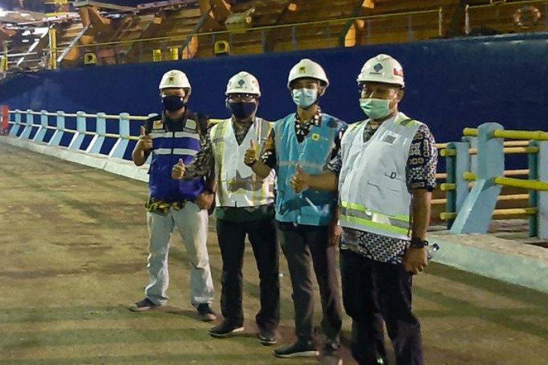 Sinergi PLN dan PELINDO III, sambung baru listrik Pelabuhan Tanjung Intan