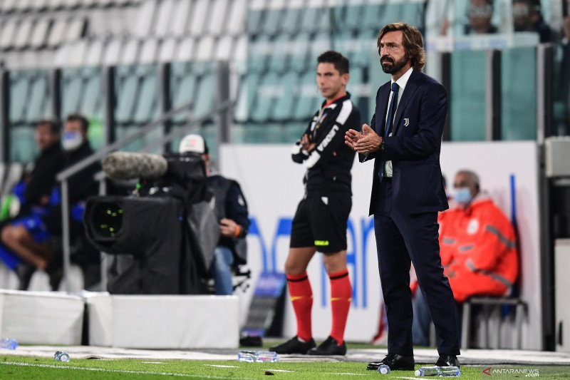 Andrea Pirlo cukup puas dengan debutnya sebagai pelatih baru Juventus