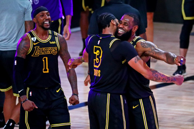 LA Lakers ungguli Nuggets 2-0 di final wilayah barat NBA