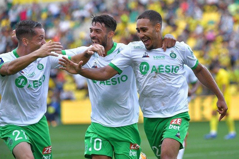 Klasemen Liga Prancis: Saint-Etienne kembali ke puncak, PSG mulai naik
