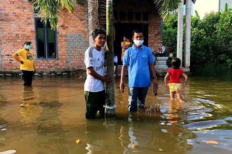 Penanganan banjir di Kecamatan Bulik terus dilakukan