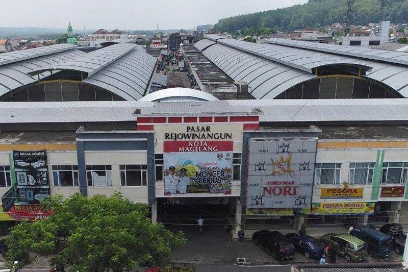 Protokol kesehatan di Pasar Rejowinangun diperketat